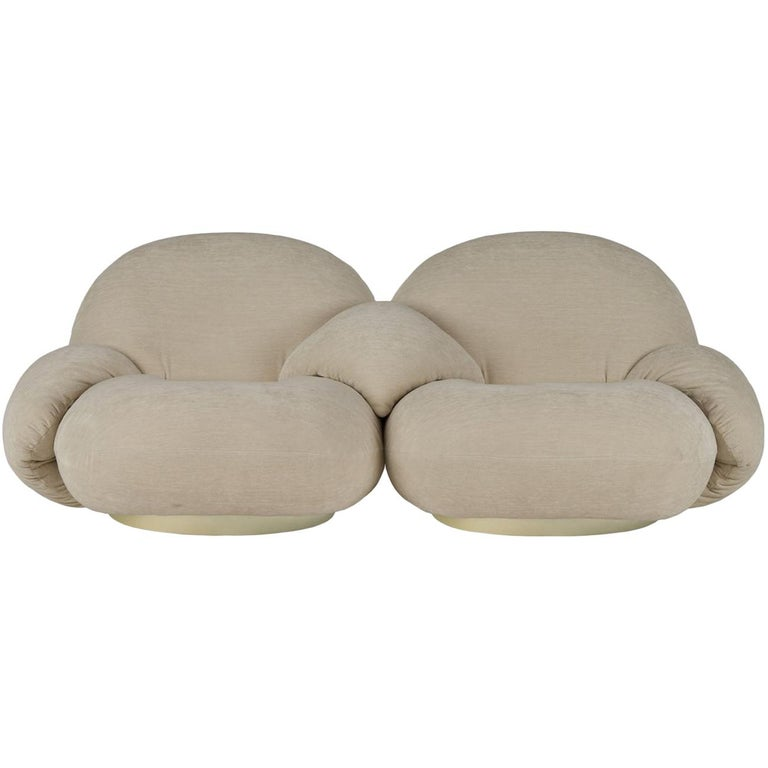 Pierre Paulin Pacha modular sectional seating, new, designed in 1975, offered by SORS