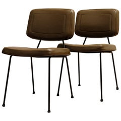 Pierre Paulin, a Pair of Chairs, Model CM 196, Thonet, 1960s
