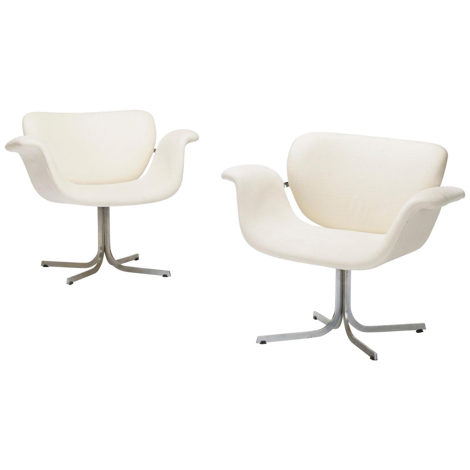 "Pierre Paulin ""Big Tulip Lounge Chairs"", 1960s"