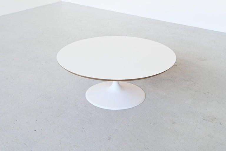 Metal Pierre Paulin by Artifort Model Circle Coffee Table, Netherlands, 1960 For Sale
