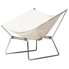 Pierre Paulin Canvas Lounge Chair for AP Originals, 1954