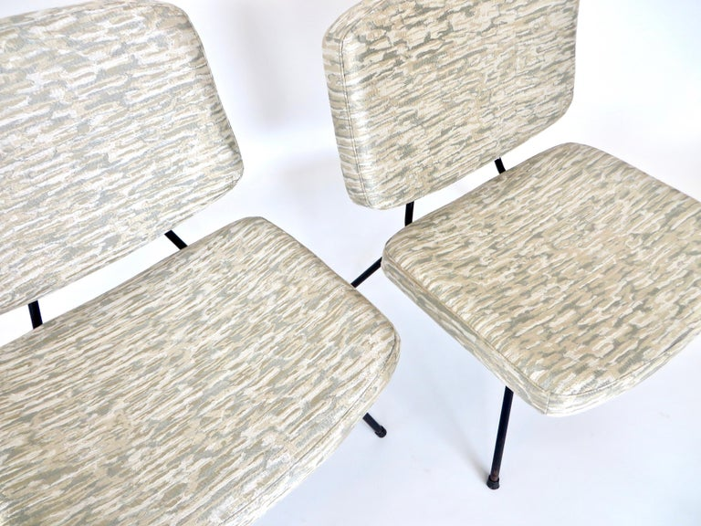 Pierre Paulin CM190 Pair of Slipper Lounge Chairs for Thonet For Sale 6