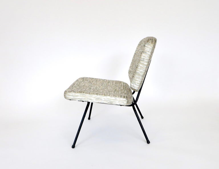 Pierre Paulin CM190 Pair of Slipper Lounge Chairs for Thonet For Sale 1