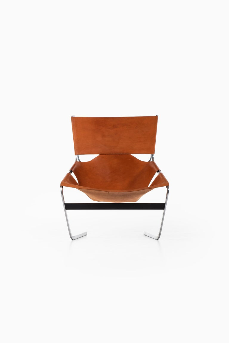 Rare easy chair model F-444 designed by Pierre Paulin. Produced by Artifort in Netherlands.