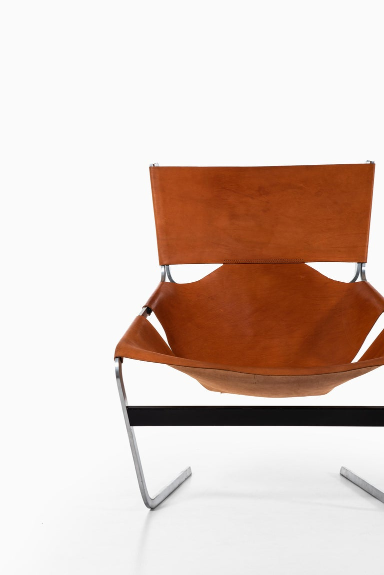 Mid-Century Modern Pierre Paulin Easy Chair Model F-444 Produced by Artifort in Netherlands For Sale