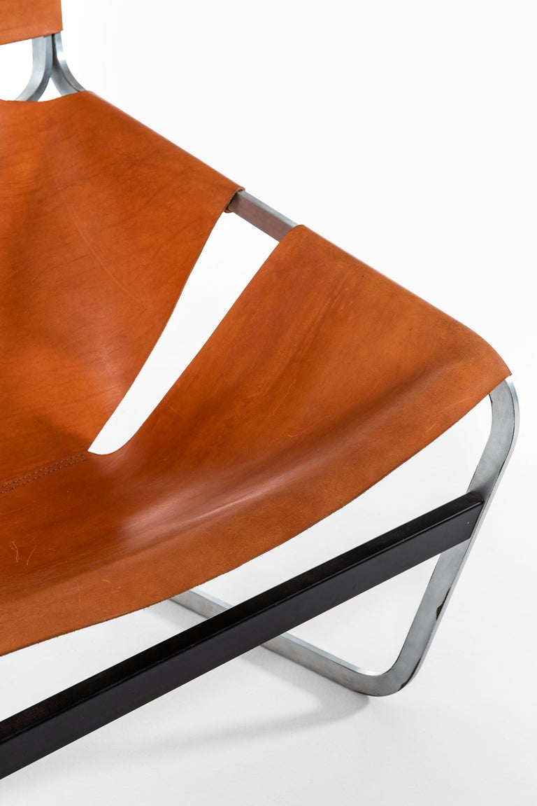 Pierre Paulin Easy Chair Model F-444 Produced by Artifort in Netherlands In Good Condition For Sale In Malmo, SE