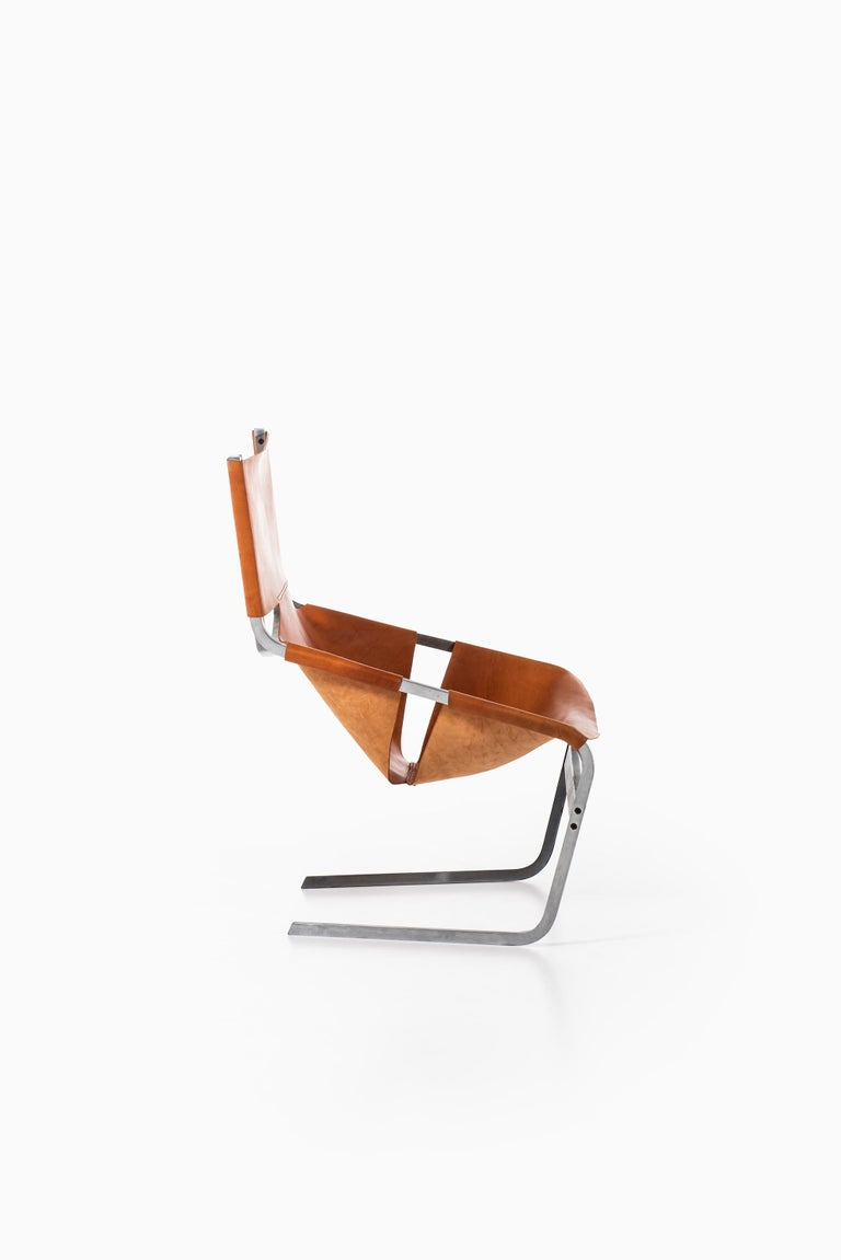 Mid-20th Century Pierre Paulin Easy Chair Model F-444 Produced by Artifort in Netherlands For Sale