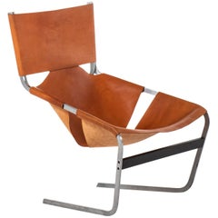 Pierre Paulin Easy Chair Model F-444 Produced by Artifort in Netherlands