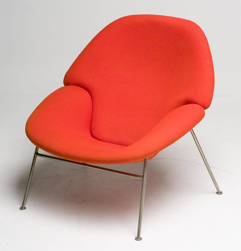 Pierre Paulin F555 Lounge Chair In Good Condition For Sale In Dronten, NL