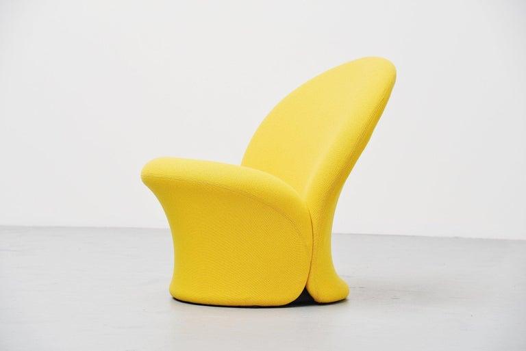 Mid-Century Modern Pierre Paulin F572 Lounge Chair Artifort 1967 For Sale