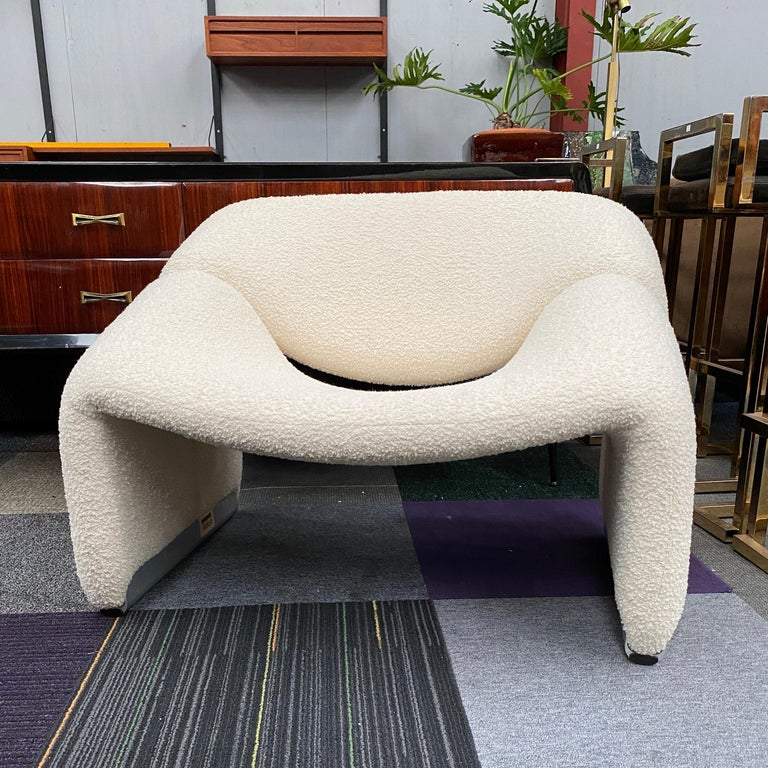 Late 20th Century Pierre Paulin f598 'Groovy' Chair by Pierre Paulin for Artifort Netherlands 1972