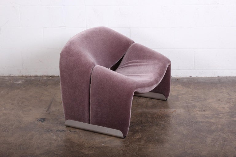 Pierre Paulin F598 Groovy Lounge Chair for Artifort In Good Condition For Sale In Dallas, TX