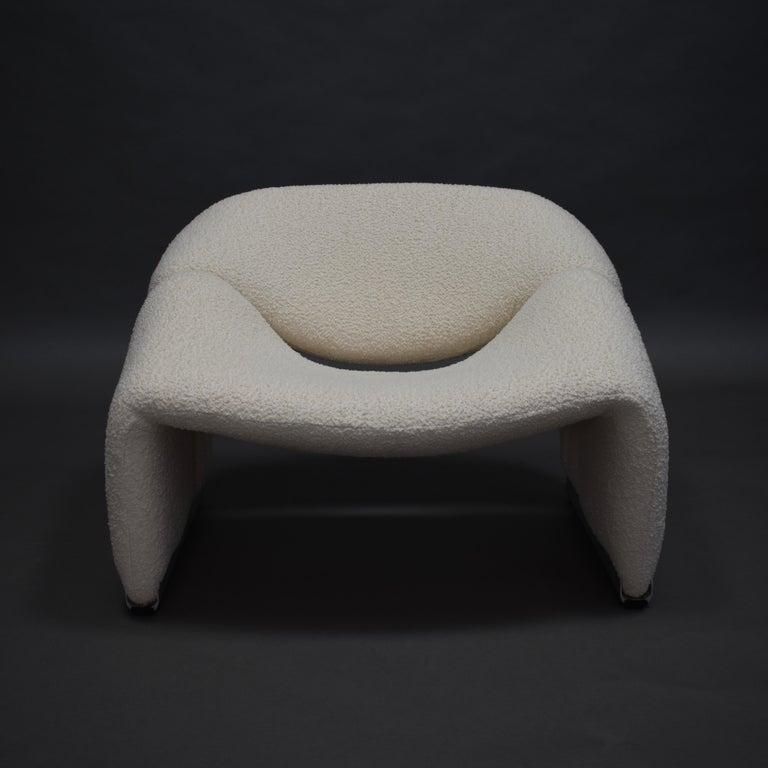 Mid-Century Modern Pierre Paulin F598 Groovy Lounge Chair for Artifort, Netherlands, 1972