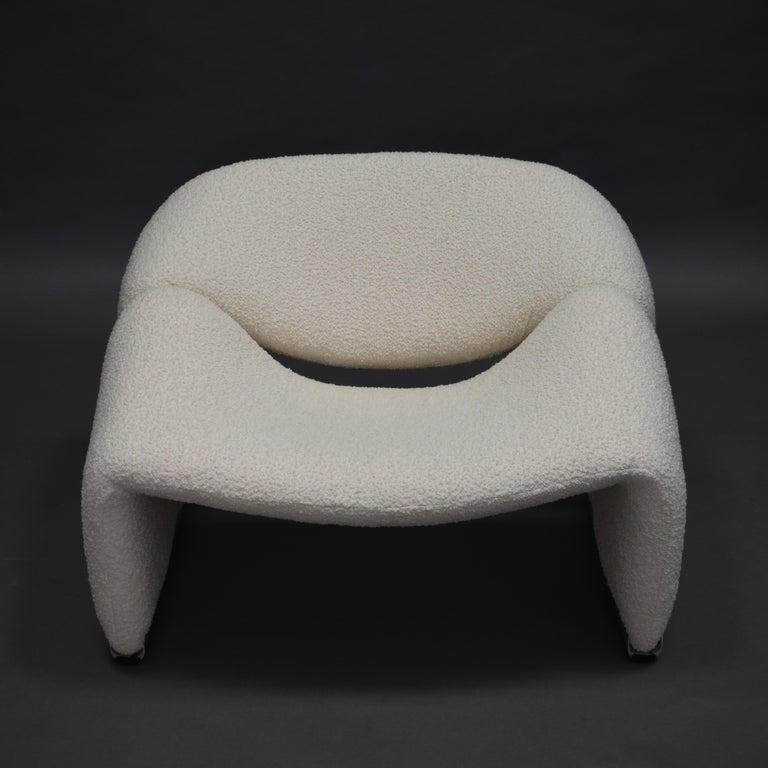 Dutch Pierre Paulin F598 Groovy Lounge Chair for Artifort, Netherlands, 1972