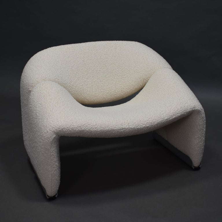 Pierre Paulin F598 Groovy Lounge Chair for Artifort, Netherlands, 1972 In Excellent Condition In Pijnacker, Zuid-Holland