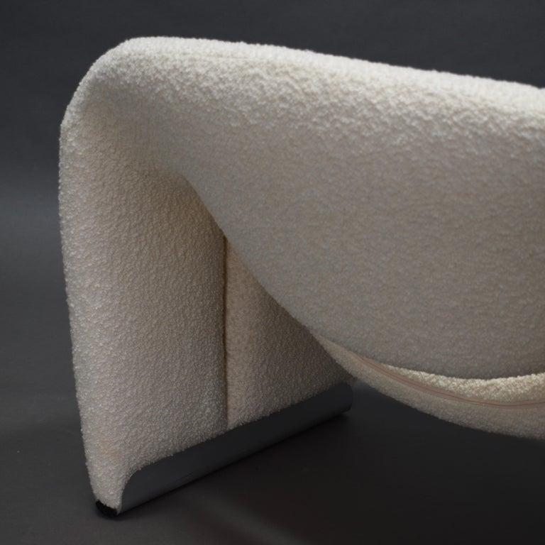 Aluminum Pierre Paulin F598 Groovy Lounge Chair for Artifort, Netherlands, 1972