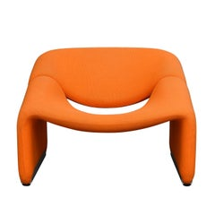 Pierre Paulin F598 Groovy Lounge Chair for Artifort, Netherlands, 1972
