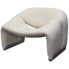 Pierre Paulin F598 Groovy Lounge Chair for Artifort, Netherlands, 1972