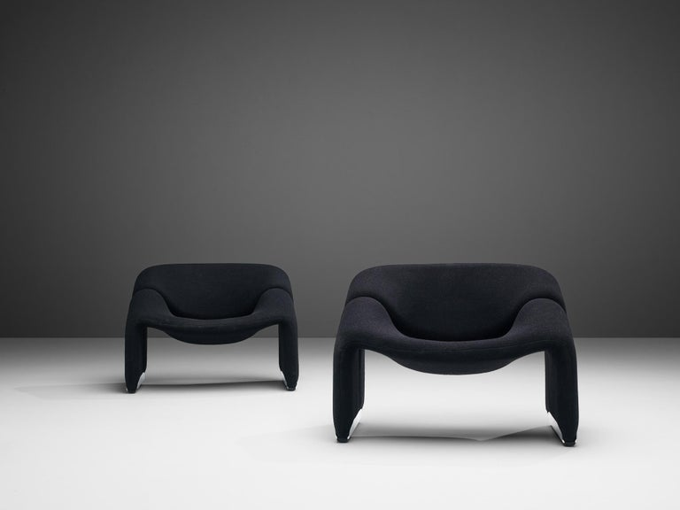 Pierre Paulin for Artifort Pair of 'Groovy' Lounge Chairs For Sale 3