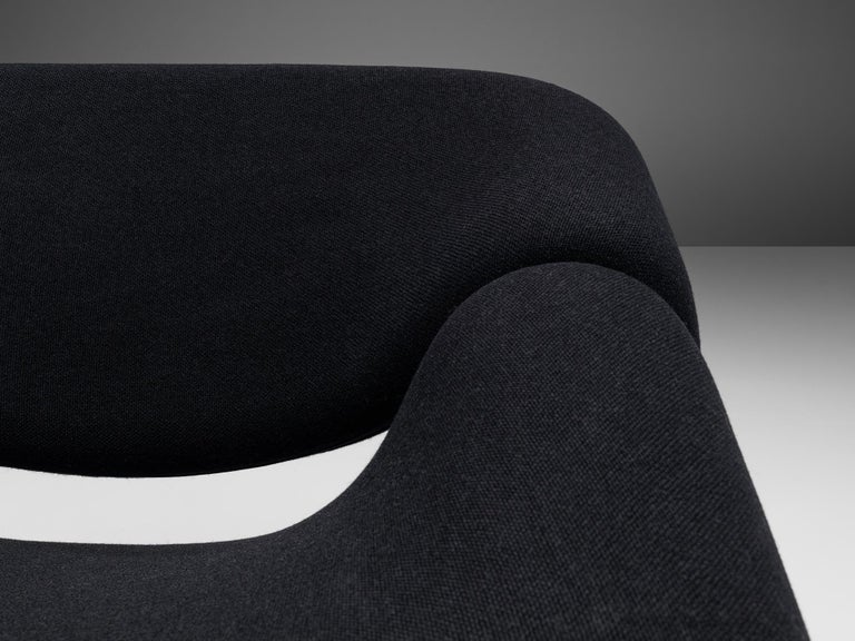 Aluminum Pierre Paulin for Artifort Pair of 'Groovy' Lounge Chairs For Sale