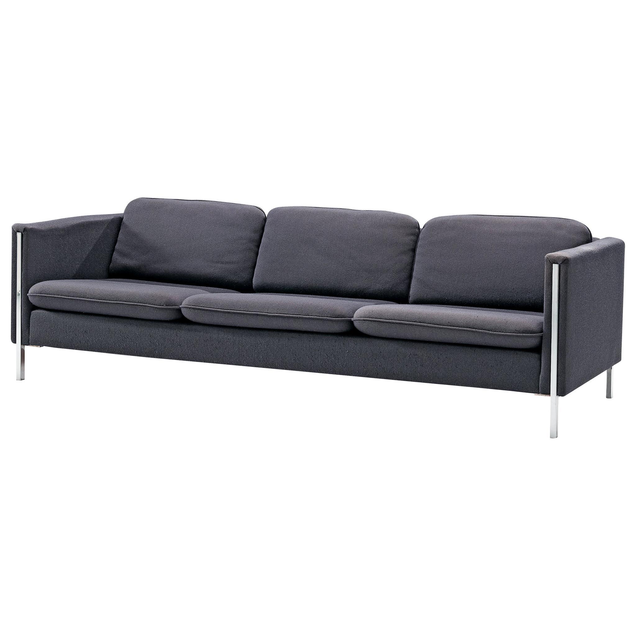 Pierre Paulin for Artifort Sofa '442/3' in Blue Upholstery