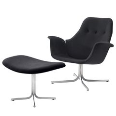 Pierre Paulin for Artifort 'Tulip' Chair with Ottoman