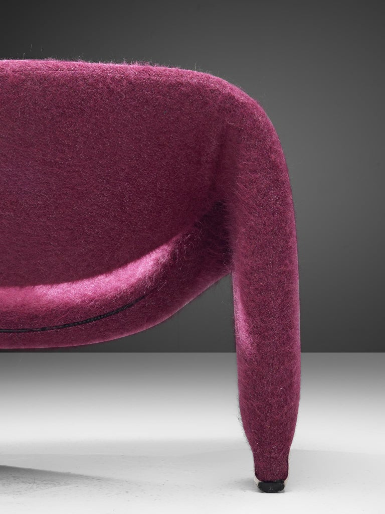 Late 20th Century Pierre Paulin 'Groovy' Lounge Chairs Customizable in Pierre Frey Wool Upholstery For Sale