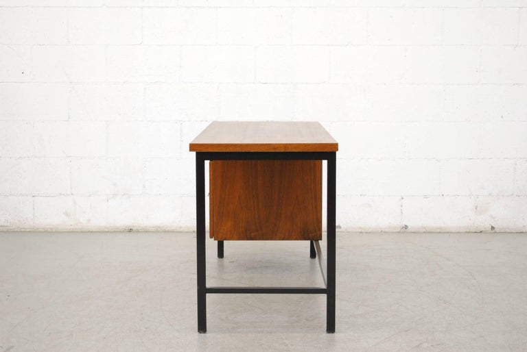 Dutch Pierre Paulin Inspired Midcentury Desk For Sale
