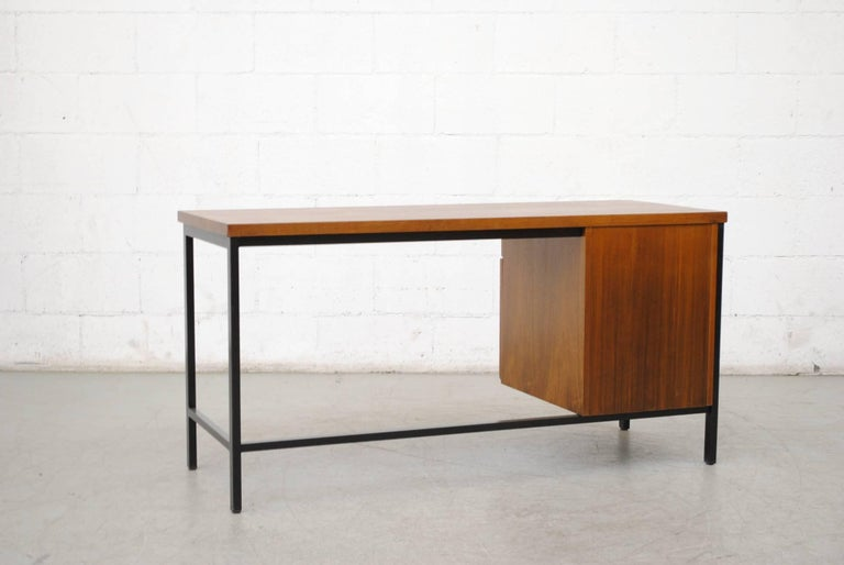 Enameled Pierre Paulin Inspired Midcentury Desk For Sale
