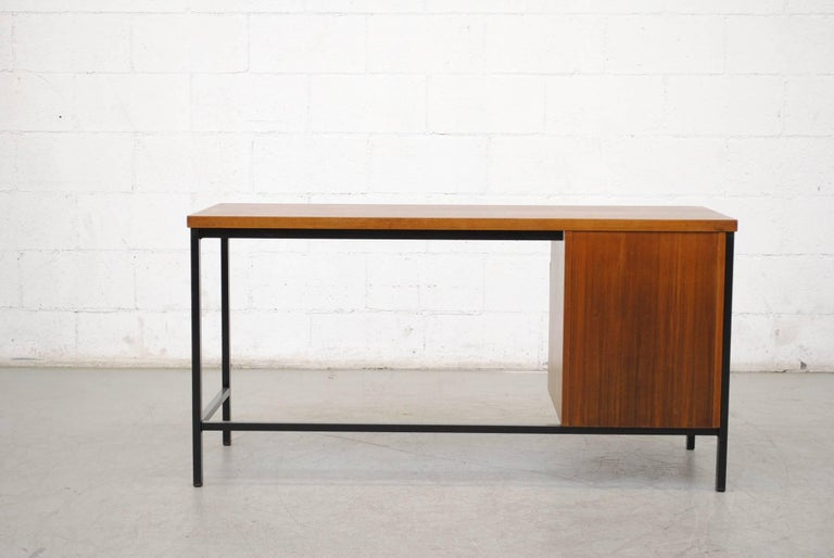 Pierre Paulin Inspired Midcentury Desk In Good Condition For Sale In Los Angeles, CA