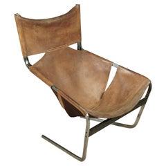 Pierre Paulin Lounge Chair, Model F444 for Artifort, circa 1960