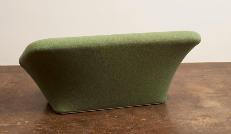 French Pierre Paulin Mushroom Sofa in Wool for Artifort, France, 1962 For Sale