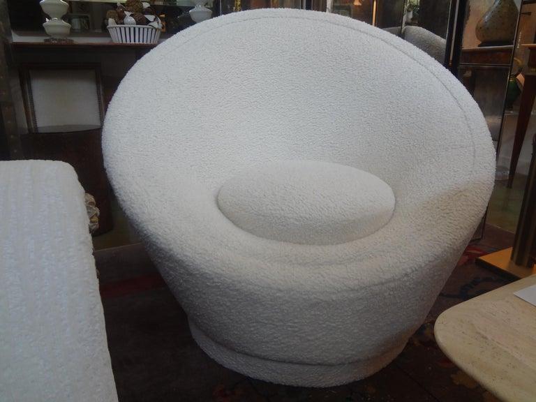 Mid-Century Modern Pierre Paulin Organic Modern Mushroom Lounge Chair For Sale