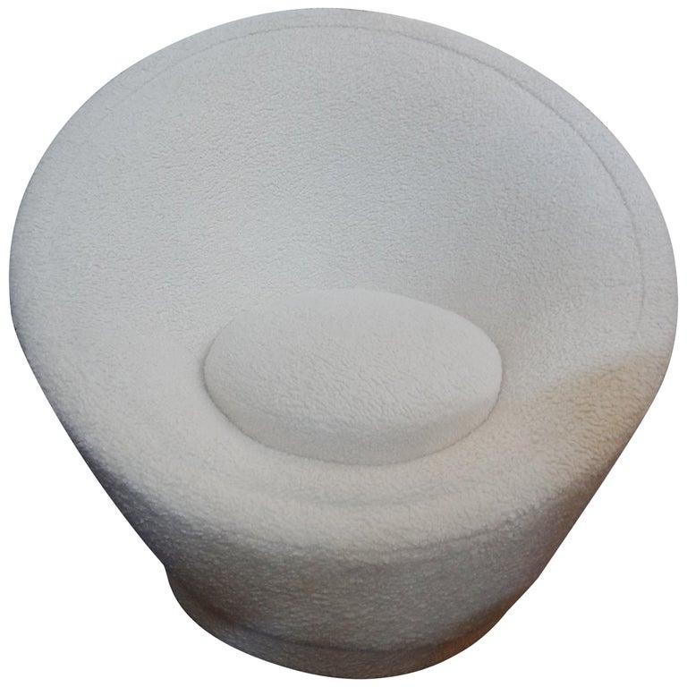 Pierre Paulin Organic Modern Mushroom Lounge Chair For Sale