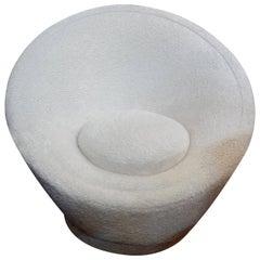 Pierre Paulin Organic Modern Mushroom Lounge Chair