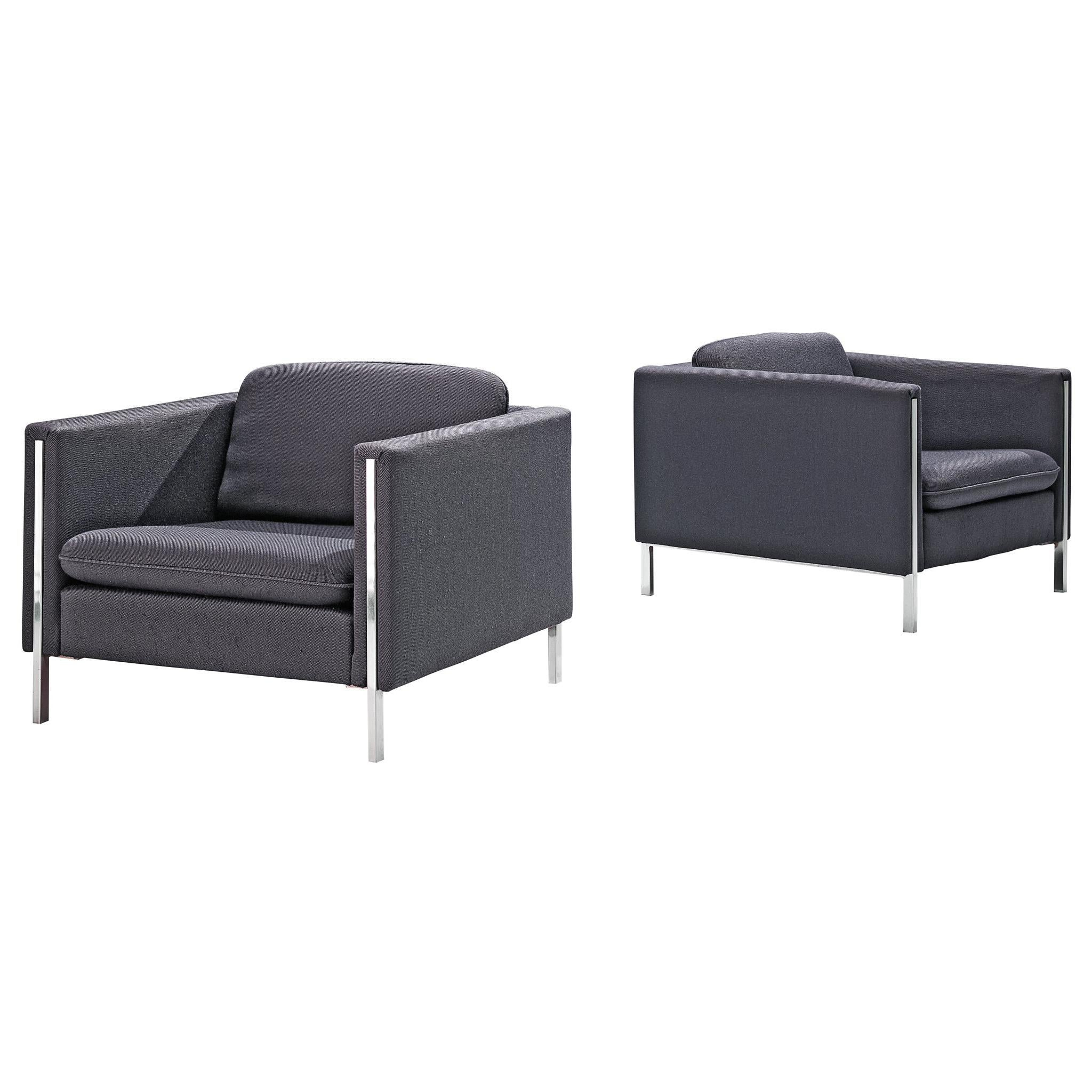 Pierre Paulin Pair of 442 Lounge Chairs for Artifort