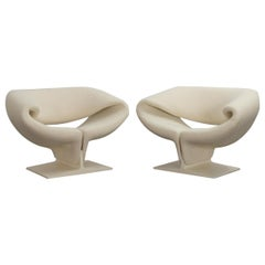 Pierre Paulin Ribbon Chairs