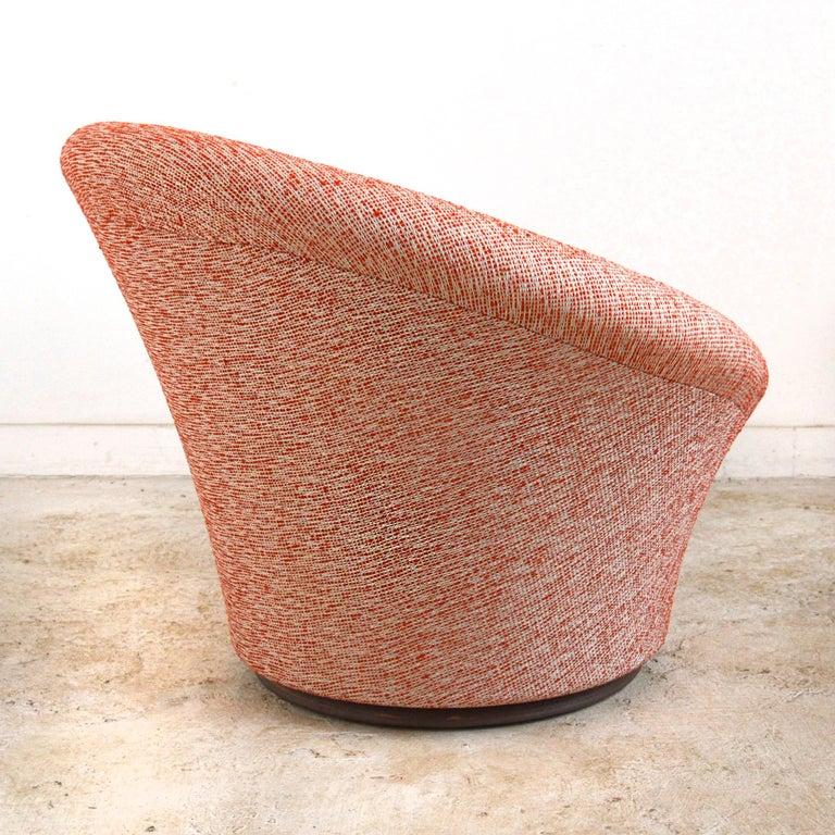 Steel Pierre Paulin Vintage Mushroom Chairs For Sale