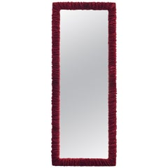 Pierre Ruched Velvet Mirror by Chiara Provasi