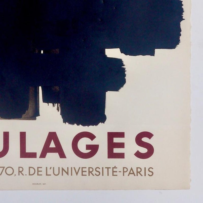 Mid-Century Modern Pierre Soulages