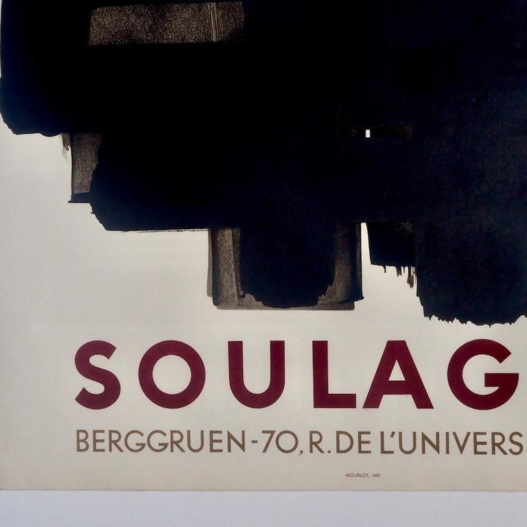 French Pierre Soulages