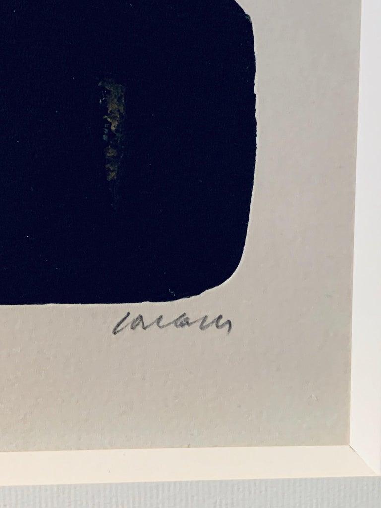 Pierre Soulages, Eau Forte, 1974 In Excellent Condition For Sale In Perpignan, FR