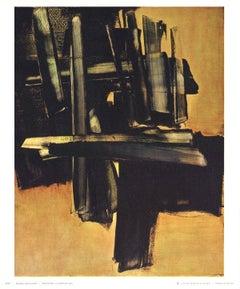 1972 After Pierre Soulages 'Peinture 16 Juillet (1961)' Expressionism France