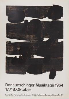 Lithograph n° 12 - Original Stone Lithograph - 1964