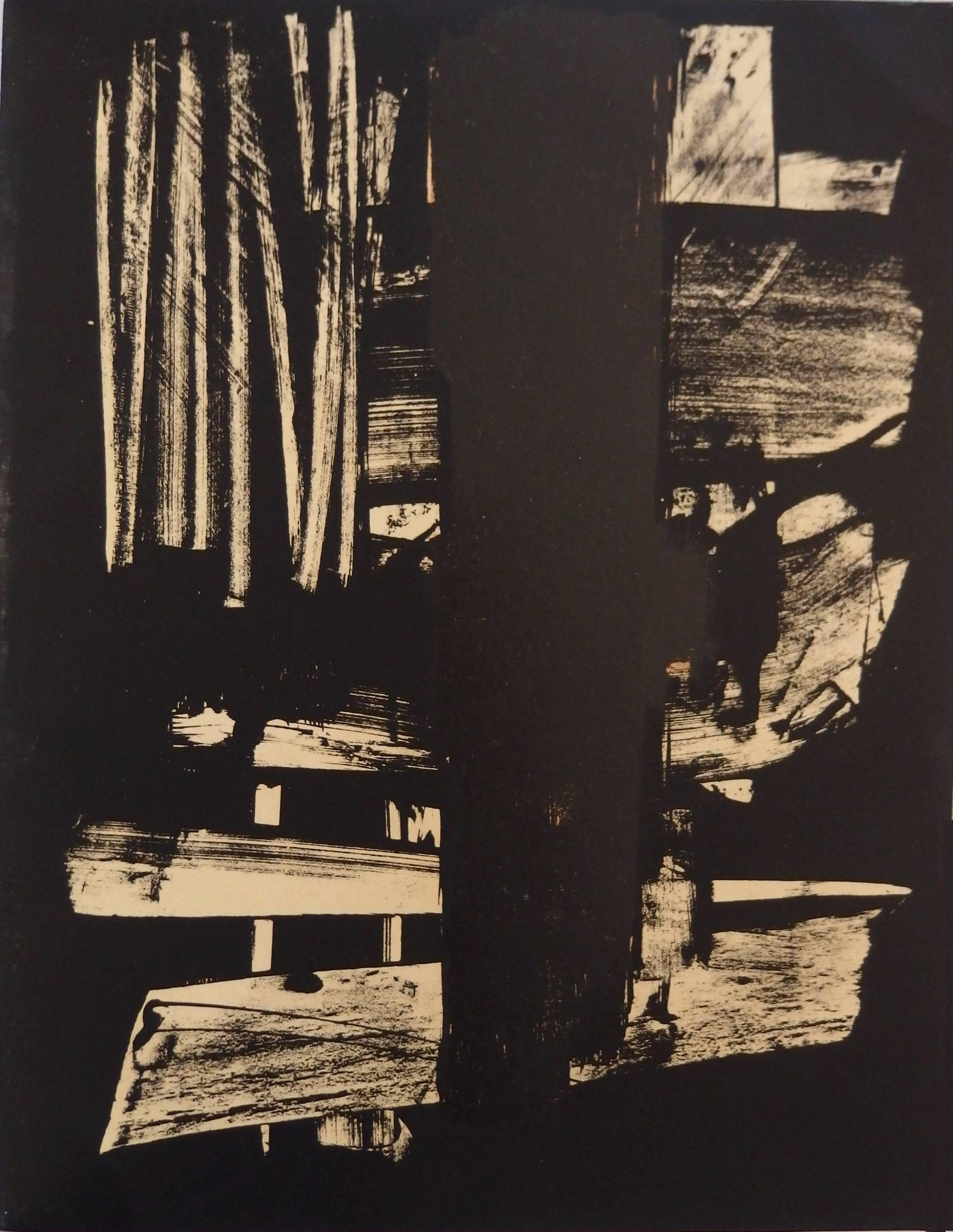 Lithograph n°9 - Original stone lithograph (Mourlot / Catalog raisonne BNF#53)