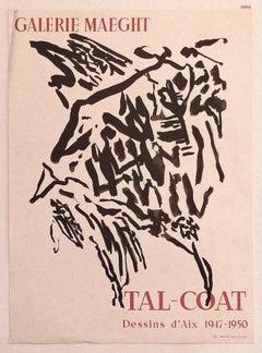 Tal-Coat Exhibition Poster - Original Offset Print - 1960 ca.