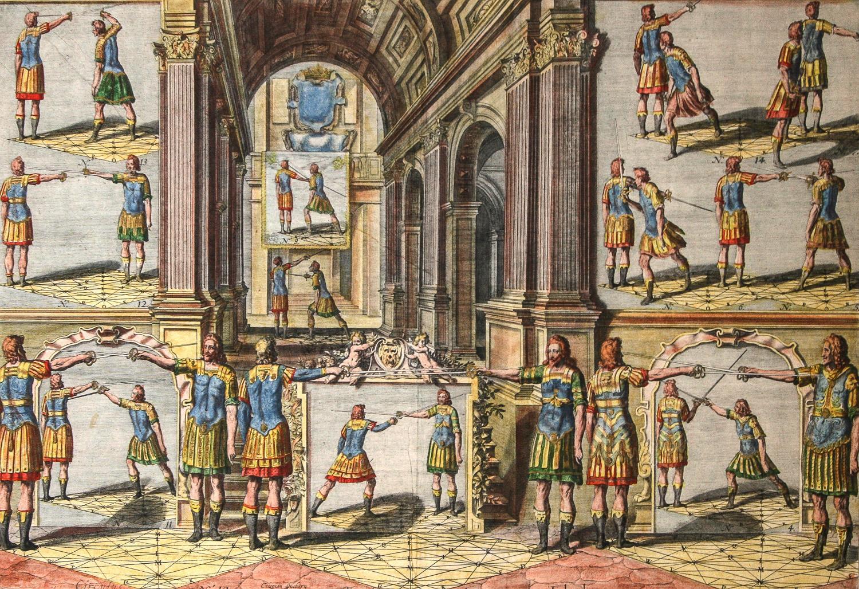 Academie de l'Espee Tabula XXI by Girard Thibault
