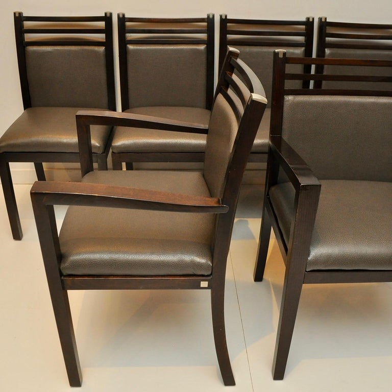 Late 20th Century Pierre Vandel Dining Chairs For Sale