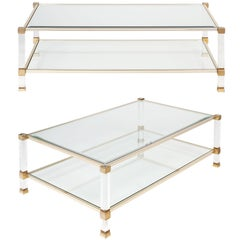Pierre Vandel Pair of Coffee Tables