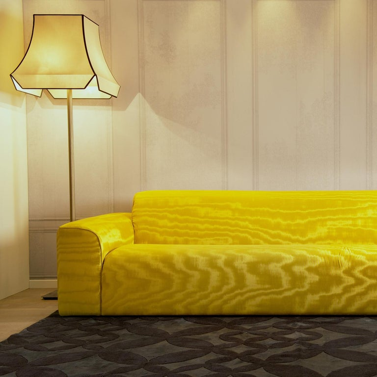 Modern Pierre Yellow Sofa by DOM Edizioni For Sale